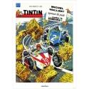 Póster de portada Jean Graton en El Journal de Tintin 1964 Nº08 (50x70cm)