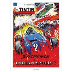 Póster de portada Jean Graton en El Journal de Tintin 1964 Nº44 (50x70cm)