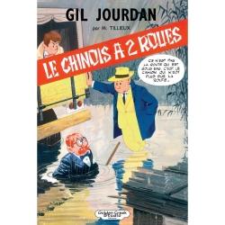 Deluxe album Golden Creek Studio Gil Jourdan: Le Chinois à Deux Roues (2018)