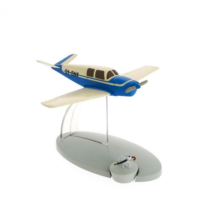 Figurine de collection Tintin L'avion bleu des kidnappeurs 29539 (2014)