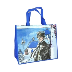 Semi-Waterproof Bag Corto Maltese Grèce, 1993 (45x38x20cm)