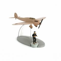 Figura de colección Tintín El avión beige La isla negra Nº18 29538 (2014)