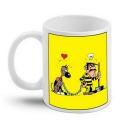 Taza mug en cerámica Lucky Luke (Dalton & Rantanplan)