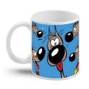 Taza mug en cerámica Lucky Luke (Rantanplan)