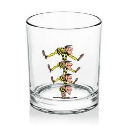 Verre à whisky Lucky Luke (Frères Dalton)