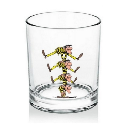 Whiskey Glass Lucky Luke (Dalton Brothers)