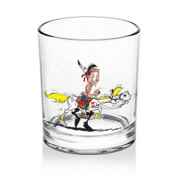 Verre à whisky (Lucky Luke & Jolly Jumper V1)