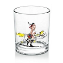 Whiskey Glass (Lucky Luke & Jolly Jumper V1)