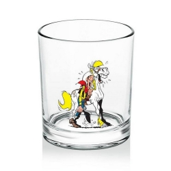 Verre à whisky (Lucky Luke & Jolly Jumper V2)