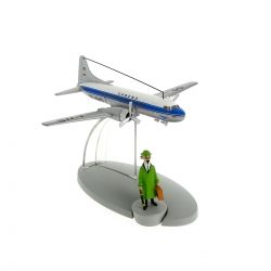 Tintin Figure collection Sabena Airlines plane Calculus Affair Nº17 29537 (2014)