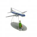 Figura de colección Tintín El avión de la Sabena Swissair Nº17 29537 (2014)