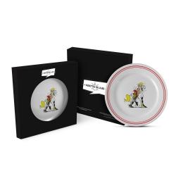 Plato en cerámica de Lucky Luke (Jolly Jumper)