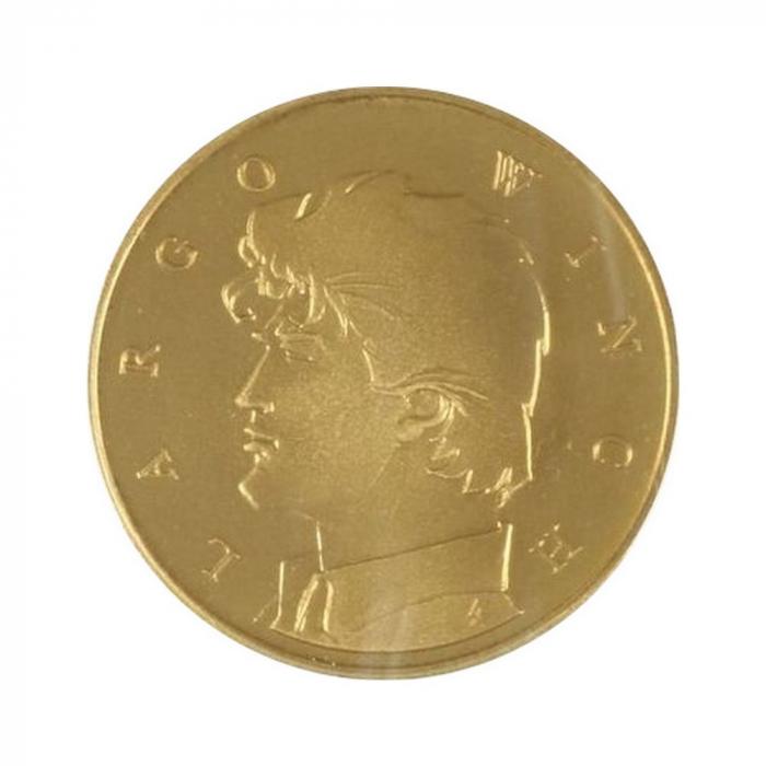 Medalla de colección Real Casa de la Moneda de Bélgica Largo Winch (2005)
