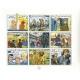 Carné de 9 Sellos B Post CBBD de cómic franco-belga (1999)
