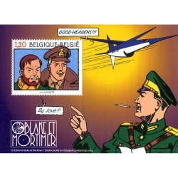 Timbre B Post Blake et Mortimer Le Secret de l'Espadon (2004)