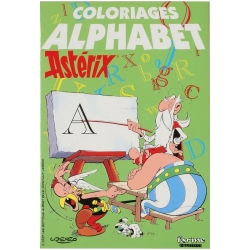 Colouring Book Asterix The Alphabet (large format)