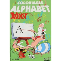 Colouring Book Asterix and Obelix The Alphabet (13x19cm)