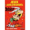 Livre de coloriage Astérix et Obélix Les Casse-têtes (13x19cm)