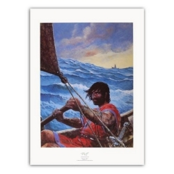 Poster affiche offset  P&T de Thorgal La Cage (50x70cm)