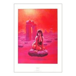 Poster affiche offset  P&T de Thorgal La Gardienne des Clés (50x70cm)