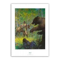 Poster affiche offset  P&T de Thorgal L'épée soleil (50x70cm)