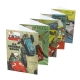 Set of 20 Jean Graton Cover Postcards from The Journal of Tintin (15x10cm)