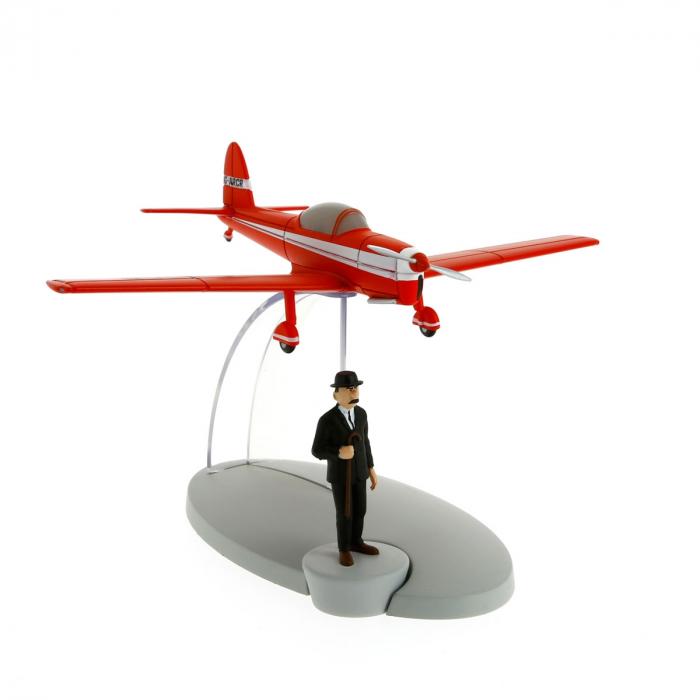 Figurine de collection Tintin L'avion rouge L'île noire 29528 (2014)