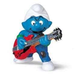 The Smurfs Schleich® Figure - The Guitarist Smurf (20449)