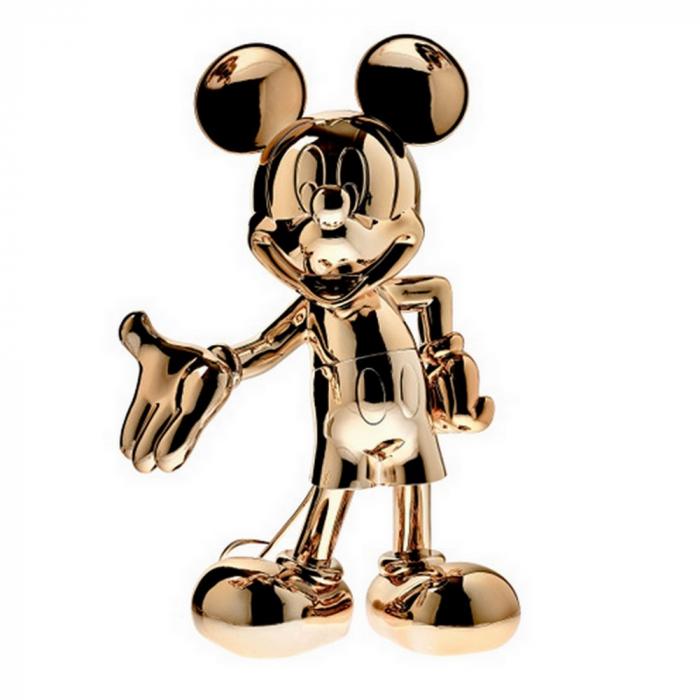 Figura de colección Leblon-Delienne Disney Mickey Mouse Welcome (Cromado)