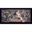 Póster cartel offset Blacksad Juanjo Guarnido, John's Blues (100x50cm)