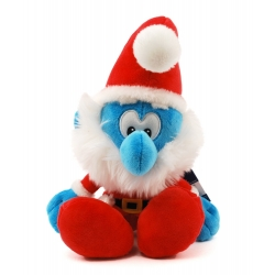 Soft Cuddly Toy Puppy The Smurfs: Christmas Papa Smurf 25cm (755339)