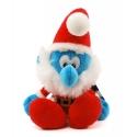 Peluche doudou Puppy Los Pitufos: Papá Pitufo Navidad 30cm (755323)
