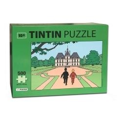 Puzzle Tintín El Castillo de Moulinsart con poster 50x34cm 81547 (2018)