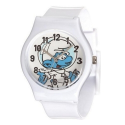 Silicone Watch Puppy Junior The Smurfs (Smurf Cosmonaut)