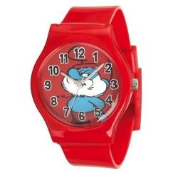 Reloj de silicona Puppy Junior Los Pitufos (Papá Pitufo)