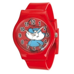 Silicone Watch Puppy Junior The Smurfs (Papa Smurf)