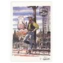 Ex-libris Offset of Lucky Luke: Girod, Tribute to Lucky Luke (14,5x21cm)