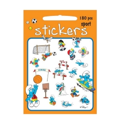 Board of 180 stickers Barbo Toys The Smurfs (Sports)