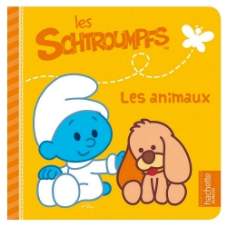 Children's Book Hachette Jeunesse The Smurfs, The animals (16x16cm)