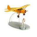Figurine de collection Tintin L'avion reconnaissance Albatros Nº13 29533 (2014)