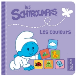 Children's Book Hachette Jeunesse The Smurfs, The Colors (16x16cm)