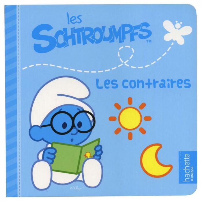 Children's Book Hachette Jeunesse The Smurfs, The Opposites (16x16cm)