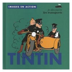 Livre pour enfants éditions Moulinsart Tintin, Les transports 24370 (2018)