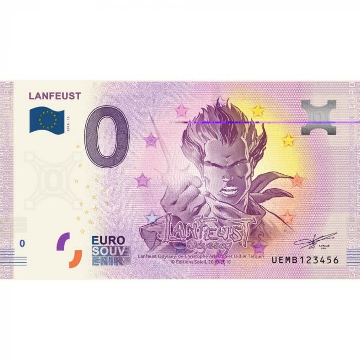 Bank note 0 Euro Souvenir Lanfeust de Troy (2018)