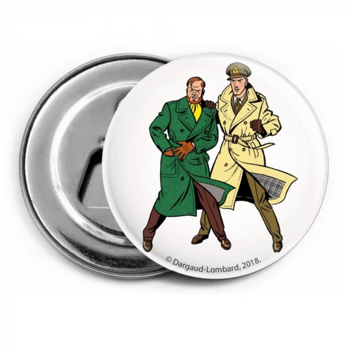 Decorative magnet bottle opener Blake and Mortimer (Duo 1)
