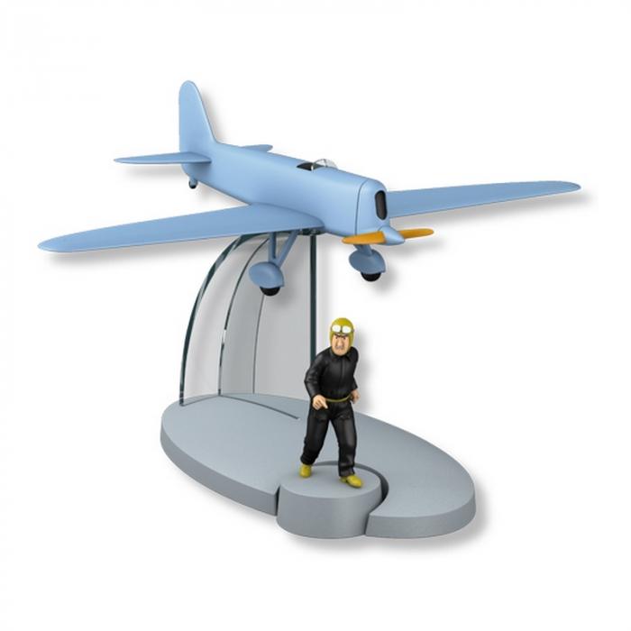 Figurine de collection Tintin Le Testament de Mr. Pump Jo et Zette 35341 (2014)