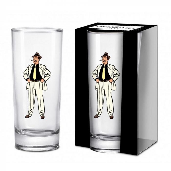 Long Drink Glass Blake and Mortimer (Olrik)