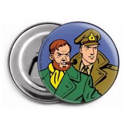 Aimant magnet décoratif décapsuleur Blake et Mortimer (Duo 2)
