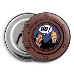 Aimant magnet décoratif décapsuleur Blake et Mortimer (HO !)