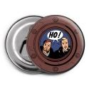 Aimant magnet décoratif décapsuleur Blake et Mortimer, HO ! (55mm)
